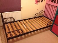 IKEA Extendable Children Bed with Single Mattress