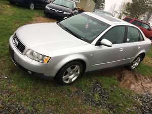 2004 AUDI A4 ALL WHEEL  DRIVE 120000kmsLOADED 2995$@902-293-6969