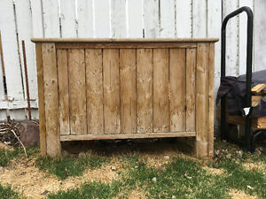 Hand made planter box/stand