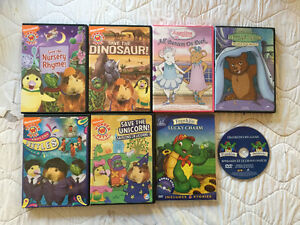 DVDs WONDERPETS,Little bear, & Angelina Ballerina