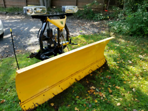 """Fisher HD 7'6"""" Straight Blade Plow/Mount/Wiring Harness!"""