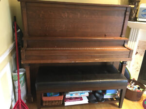 Piano- best offer...want it out now