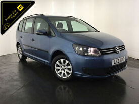 2012 VOLKSWAGEN TOURAN S BLUE TECH TDI 7 SEATER 1 OWNER VW HISTORY FINANCE PX