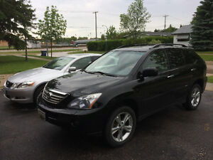 2008 Lexus RX 400h hybrid safety