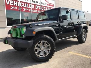 Jeep Wrangler Unlimited 4WD 4dr Rubicon+CUIR+NAV+MAGS+A/C+GR.ELE