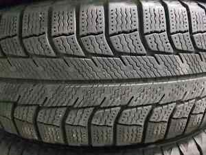 "185/65/14  Michelin X-ICE winter tires with 14""steel wheels"