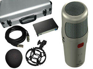 Behringer T-1 Studio Professional Tube Condensor Microphone NEW