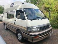 Toyota HIACE HIGH TOP 4 BERTH AUTO CAMPERVAN Toilet / Shower LOW LOW MILES 20K