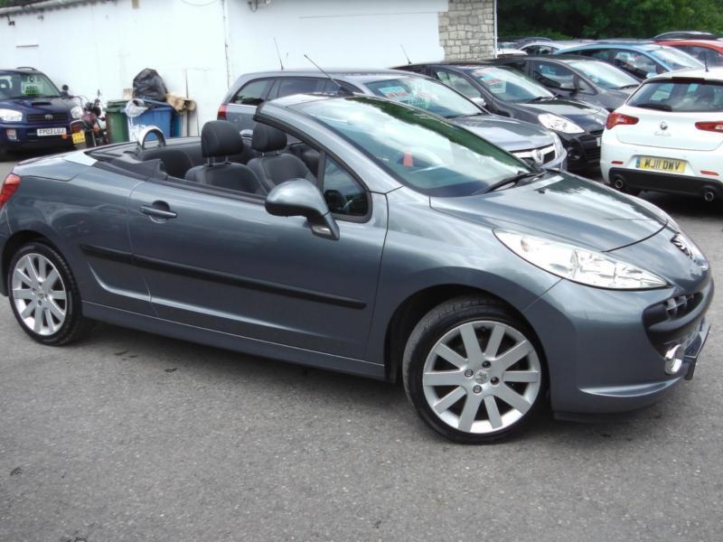 2008 peugeot 207 gt coupe cabriolet leather convertible petrol in saltford bristol gumtree. Black Bedroom Furniture Sets. Home Design Ideas