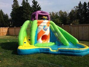 Little Tykes inflatable water slide