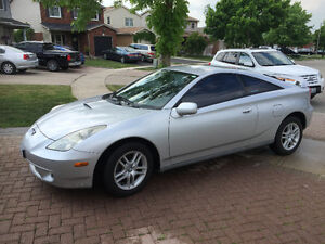 2001 Toyota Celica Great Condition $4500