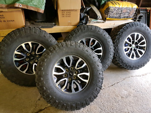 Svt Raptor rims / tires