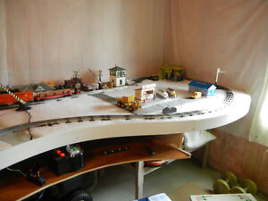 N, HO, O scale Toy train lay out table Kitchener / Waterloo Kitchener Area image 6