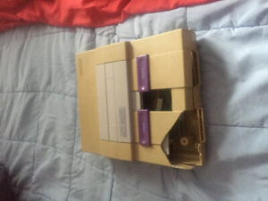 A working N64 and a broken SNES