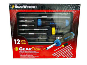 NEW 12 PIECE GEAR WRENCH SCREWDRIVER SET Aviation Tools.