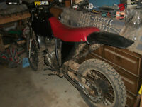 honda xr200 with rebuilt CRF 230 engine. for trade