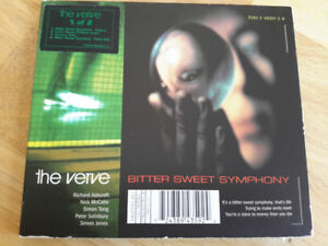 CD single the Verve - Bitter sweet symphony 1997 4 titres