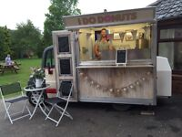 Donut wagon for hire, wedding hire, fetes, wedding car hire, chocolate fountain hire, selfie mirror