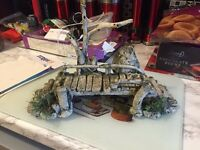 LARGE Fish tank ornament bridge