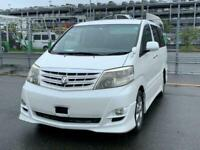 Toyota Alphard AS Platinum Selection 2 2.4 Petrol Auto Low Miles MPV Petrol Auto