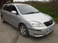 2002 Toyota Corolla 1.4 VVT-i T3 DAMAGED SPARES OR REPAIR SALVAGE