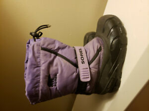 Sorel Boots Purple Size 13