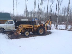 Backhoe for Sale Back Hoe Tractor
