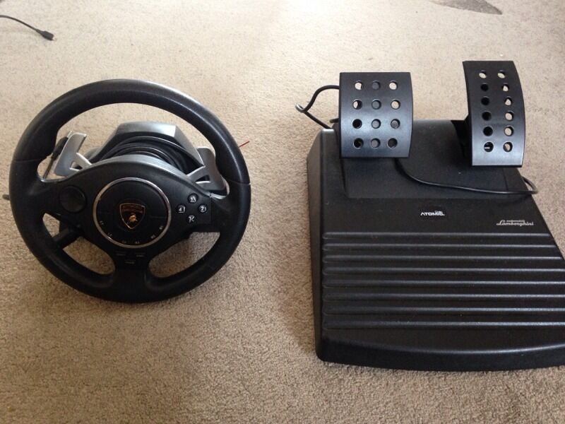 Ps3 Steering Wheel Lamborghini Steering Wheel For Ps3 Very Realistic Driving Experience