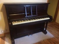 Upright Piano - W. J. Payne