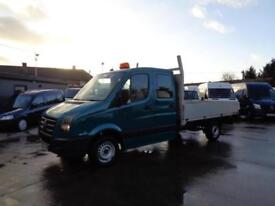VOLKSWAGEN CRAFTER 2.5 TDi | CR35 | LWB | DOUBLE CAB | TIPPER | 2008 MODEL