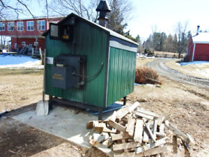 Out door wood  furnace $5500.00