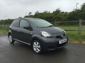 Toyota AYGO 1.0 VVT-i ( a/c ) 2011 AYGO GO finance available from £20 per week