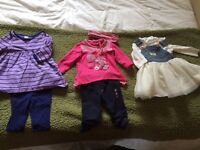 Cute baby girl outfit 3-6 mth and 6 mth