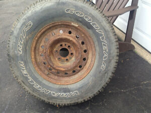 GOODYEAR WRANGLERS RT/S TIRE(P265/70 R  16)