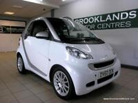 Smart ForTwo CABRIO PASSION MHD 71BHP Semi Auto [2X SMART SERVICES, SAT NAV, PAN