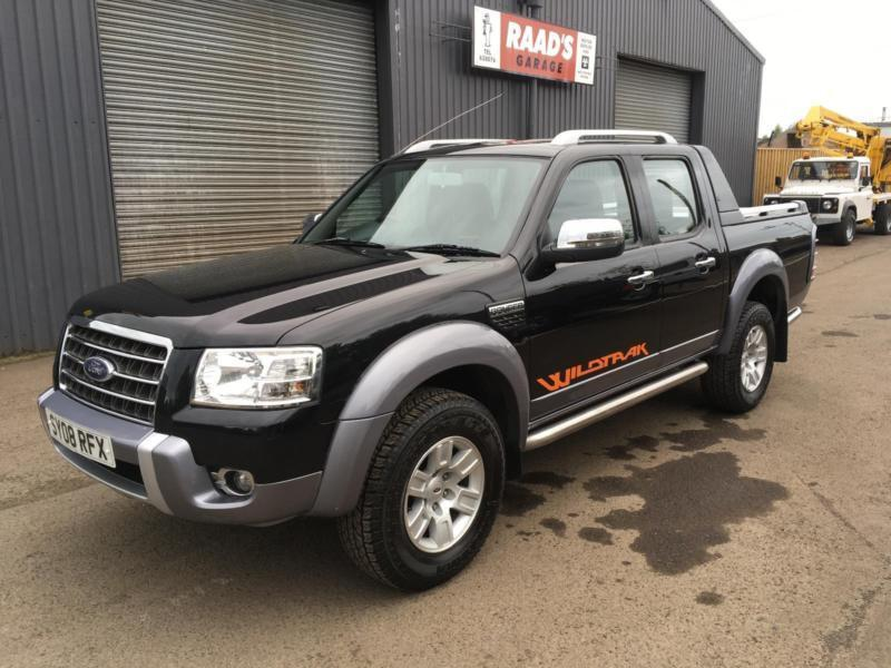 sold 2008 ford ranger 3 0tdci wildtrak double cab 4x4. Black Bedroom Furniture Sets. Home Design Ideas