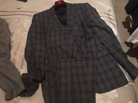 2 hardly worn suits for sale