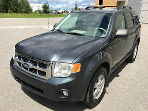 2008 Ford Escape XLT, CUIR, V6, IMPECCABLE