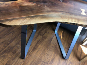 Corner Desk : Solid Walnut : Offers