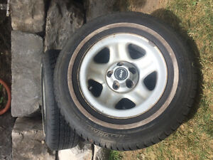 All season Tires and jeep Rims