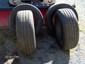 tires; 275/65/18 truck tires, 2 michilin and 2 goodyear,compatab
