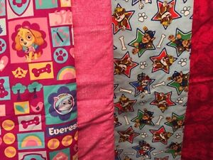 Paw Patrol Quilt / Blanket - New:  Hand Made