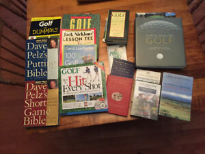 Golf Book and Video Collection