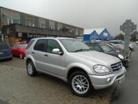 2001 (Y) MERCEDES-BENZ ML 270 CDi AMG Kit Alloys Facelift Upgrade Leather FSH