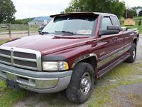 DIESEL 2001 Dodge Power Ram 2500 larmie Pickup Truck DIESEL