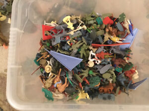 Collectable toy solders/ cowboys and Indians