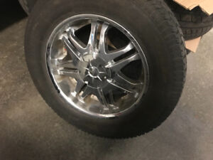 Reduced price. On 20 inch chrome wheels