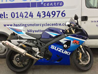 Suzuki GSX-R600 / GSXR600 K5 Super Sports Bike / Nationwide Delivery / Finance
