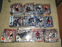 McFarlane Toys NHL Players and Goalies Action Figure Lot