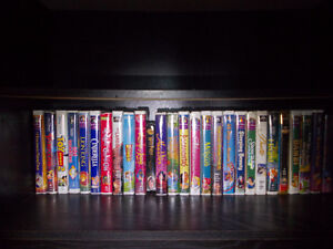 Walt Disney Children's Timeless Classics collection in VHS